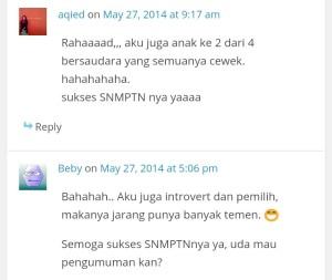 Perhatikan kata-kata SNMPTN