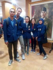 Selesai survey jalan-jalan ke museum Bung Karno